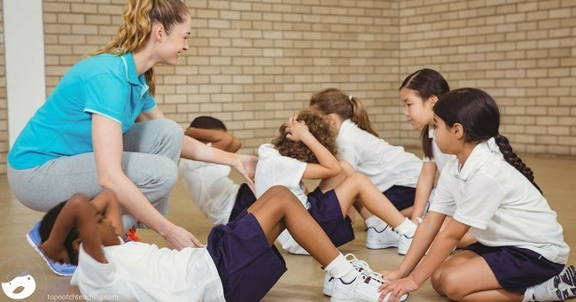 There is plenty of evidence that physical activity helps kids to focus in the classroom. Here are some physical education ideas to add movement to your day.