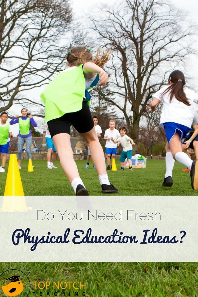 There is plenty of evidence that many kids aren't active enough—and that physical activity helps kids in lots of ways (including focusing in the classroom). Here are some fun games and ideas to add movement to your day whether in a physical education lesson or as a quick add in for your primary/elementary class. Try them out today. #teacherresources #teachertips #backtoschool #physicaleducation #brainbreaks #lessonplans