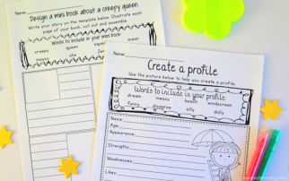 Phonics writing prompts are an engaging way to help your students revise words learned during spelling time and then use these words in their writing.