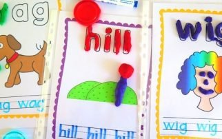 Are you looking for some fun ways to practice CVC words? This CVC playdough mats packet provides DONE FOR YOU mats that are perfect for literacy centers.