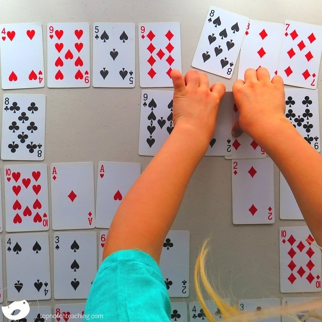 Are you after some more fun math games? Math card games are a fantastic way for kids to practice math skills, but in a non-threatening and motivational way.