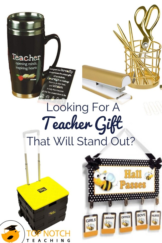 Do you have a teacher or two on your holiday shopping list? Maybe you're after a present for Christmas or an end of year appreciation gift. Whether you are buying for your child's teacher, another teacher in the family, a bestie who is also a teacher, or your teaching buddy next door, you want a teacher gift that will stand out. Don't want to blow your budget? I've got fresh ideas for all price ranges from $10 to over $50. #holidaygifts #teachergifts #teacherappreciation #giftideas