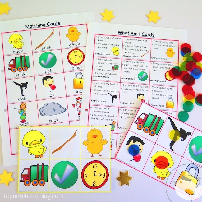 Do you ever get tired of creating engaging digraph activities? I've got you covered with this NO PREP digraph ck words worksheets and games packet.