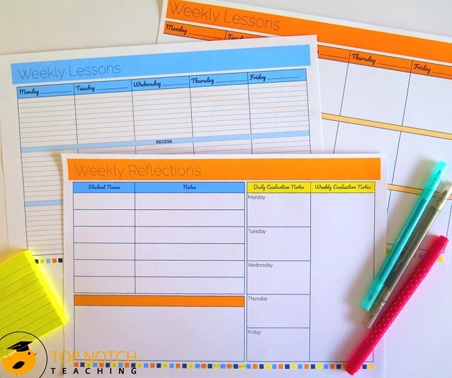 Lesson plan templates can help you get off to a great start and keep you on track this year. You don't have to recreate the wheel when it comes to planning.