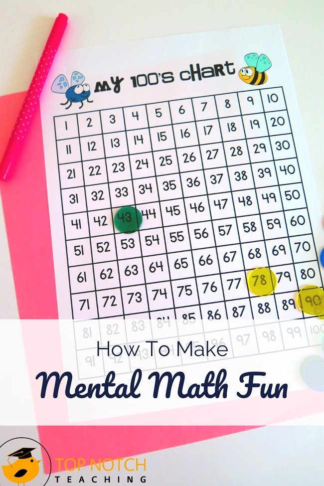 Last week I talked about why mental math matters and the tricks and strategies to teaching the 5 key mental math skills. Now I want to share a few games and activities that my students love that keep mental math practice fun—even for kids who say they don't like math. Try them with your class today! #mathactivities #mathgames #teachingmath