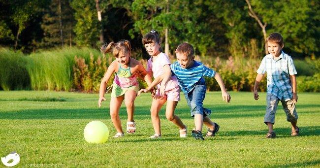 Phys Ed Focus: 15 Ways To Get Kids Moving