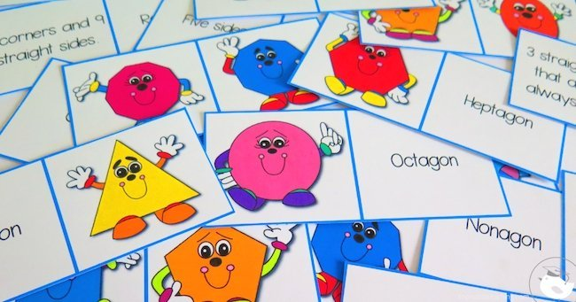 How To Teach Shapes With Simple Games