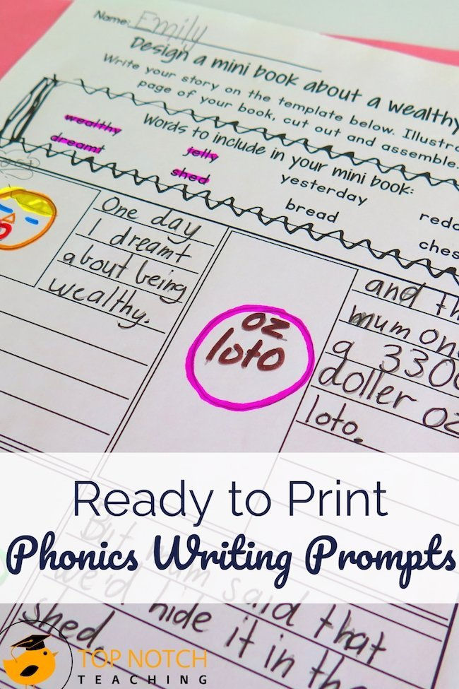 Do you struggle to find fun ways to engage kids in phonics practice and writing? Phonics writing prompts for kids provide structure, focus, and a little fun.