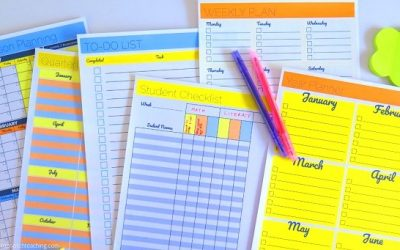 Lesson Plan Templates—Now Is The Time To Plan