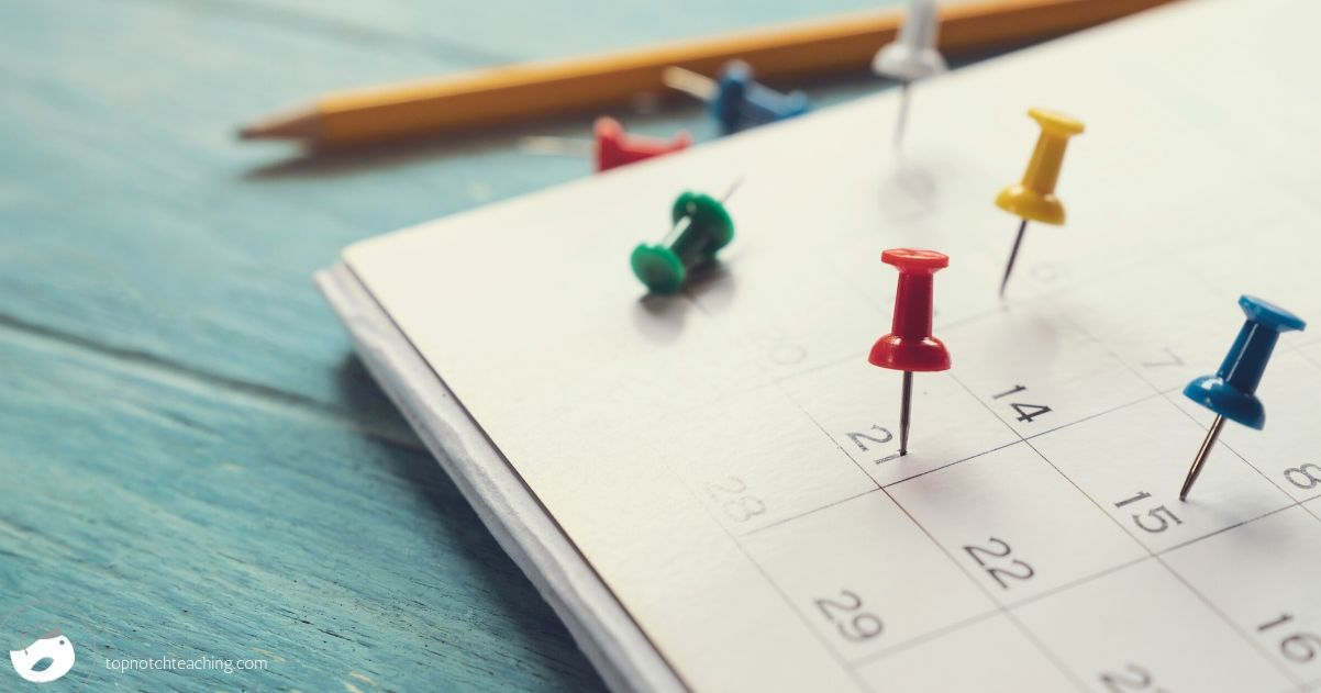 Having the first month of school planned out makes that first month a whole lot easier. So let's take a closer look at how to plan for that first month.