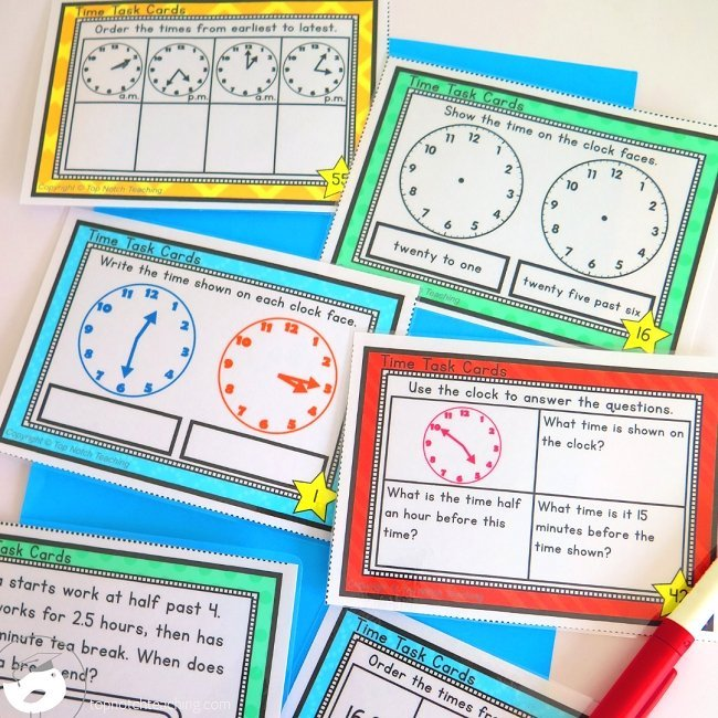 Learning to tell time is essential for kids. If you're working on telling time with your students, check out these practice ideas.