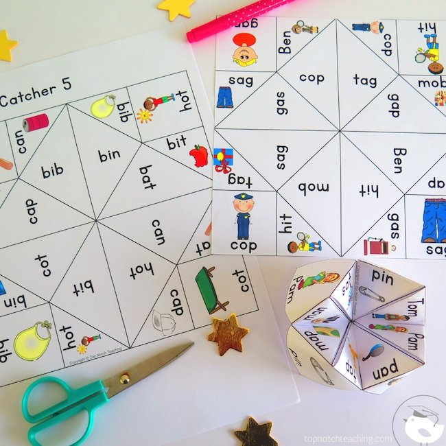 This CVC words worksheets bundle provides more than 800 pages of READY TO PRINT activities and games that are perfect for literacy centers.