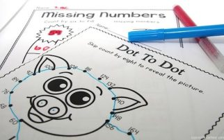 Are you after more engaging ways to teach skip counting? This pack includes 50 easy to use skip counting worksheets for multiples of 6, 7, 8, 9, and 100.