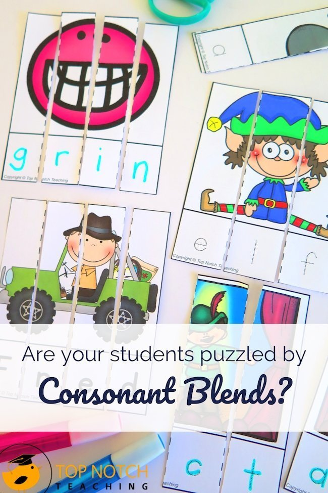 Students can always use additional practice segmenting and blending sounds, whether you are working with CVC words, digraphs, or consonant blends. You can help students tackle segmenting and blending with simple activities. #literacy #reading #spelling #phonics