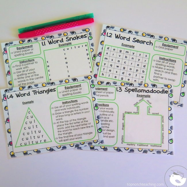 Struggling to find generic spelling word activities that can be used with any word list. Here are 22 spelling word activities you can use year round.