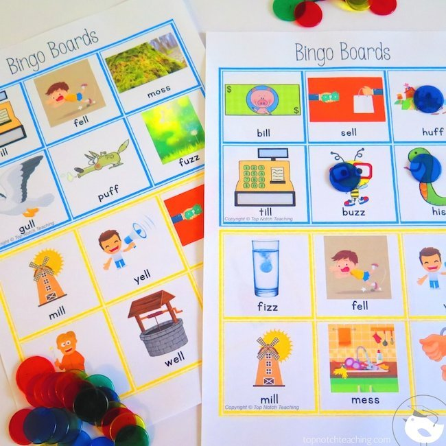 I know that having lots of CVC word games and activities helps my students. It means they get tons of practice for every set of words or sounds.
