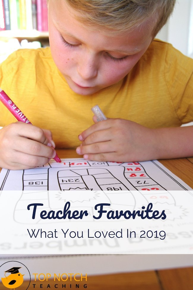 We're wrapping up another calendar year … where does the time go? My goal here at Top Notch Teaching is always to make teachers' lives easier through resources, advice and learning programs that save time, inspire and motivate. Here are some teacher favorites—posts and products you loved in 2019.