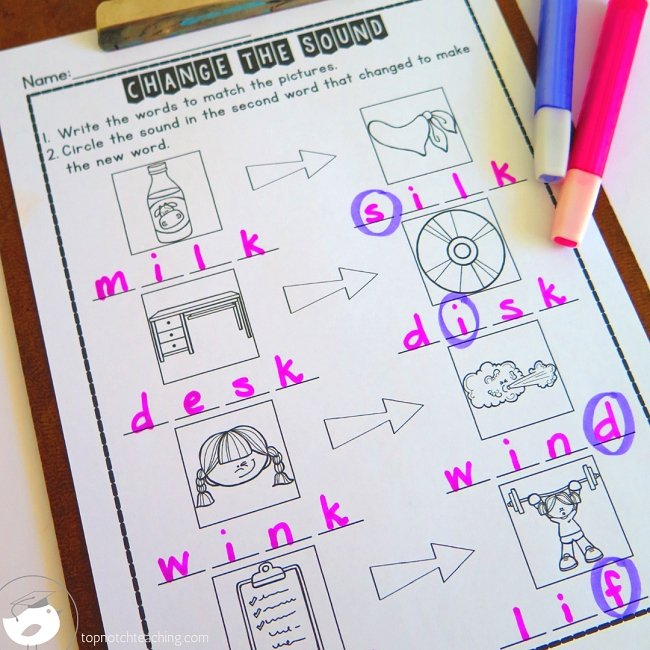 Do you want your phonics homework set up so you can just grab, copy and send it home? Take the stress out of homework with this free phonics homework pack.