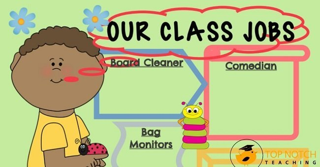 Classroom jobs promote responsibility and community, and these adorable spring classroom job charts make managing classroom jobs easier.