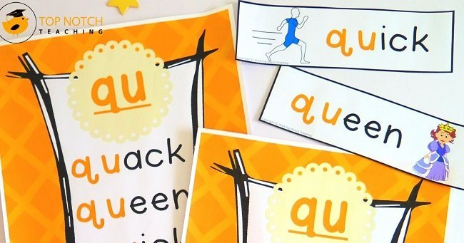 Are you looking for some fun ways to practice and review qu words? These qu worksheets are easy to follow so are perfect for independent practice.