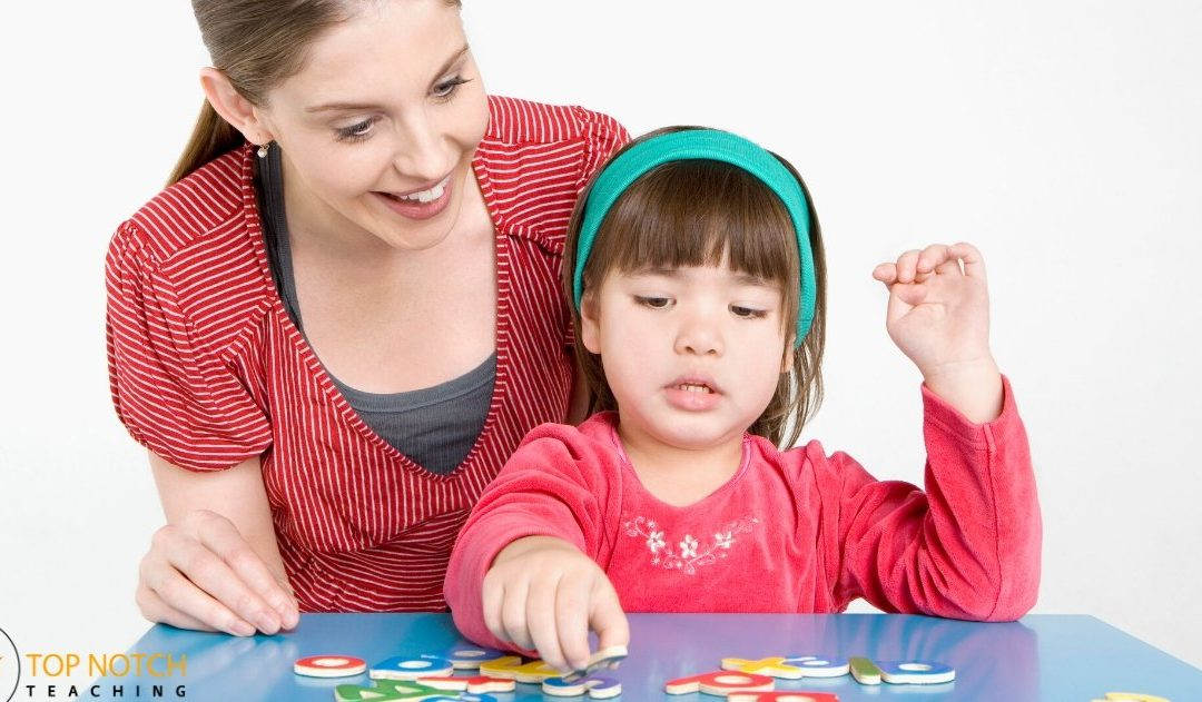 Segmenting Activities To Help Kids Spell Better