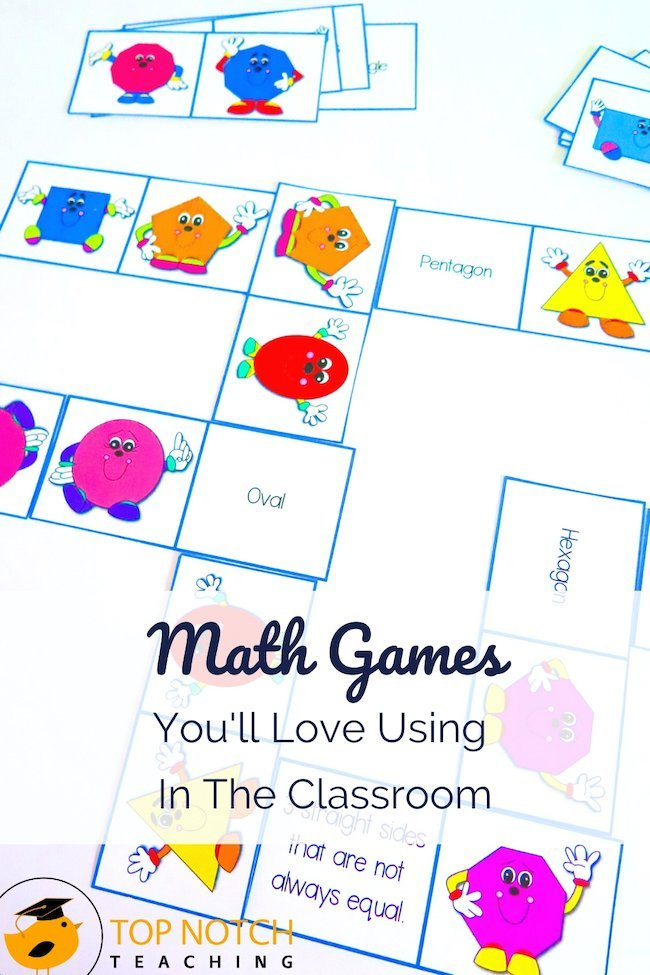 Math games are a non-threatening and motivational way to provide additional practice to help kids consolidate math skills. Yes, there are tons of online math games, but there's something to be said for low tech versions!