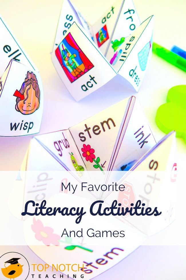 There's so much to teach when it comes to literacy, and I'm passionate about doing it right. Having a slew of literacy activities and games makes teaching so much easier. And my collection provides different ways for my students to practice because we know they don't all learn the same way.