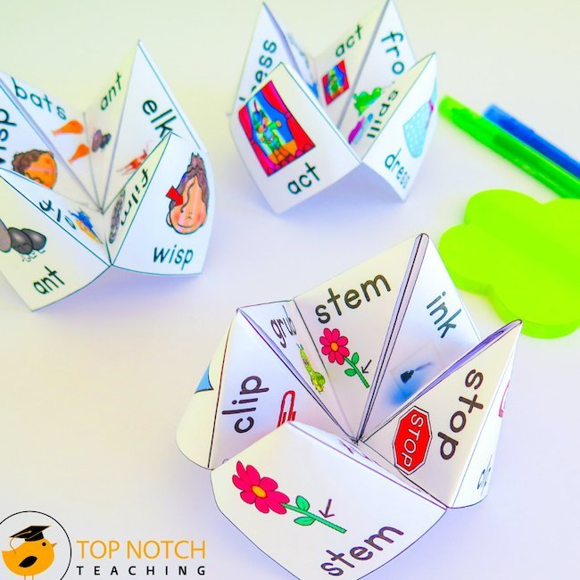 There's so much to teach when it comes to literacy. So having a slew of literacy activities and games makes the teaching of literacy so much easier.