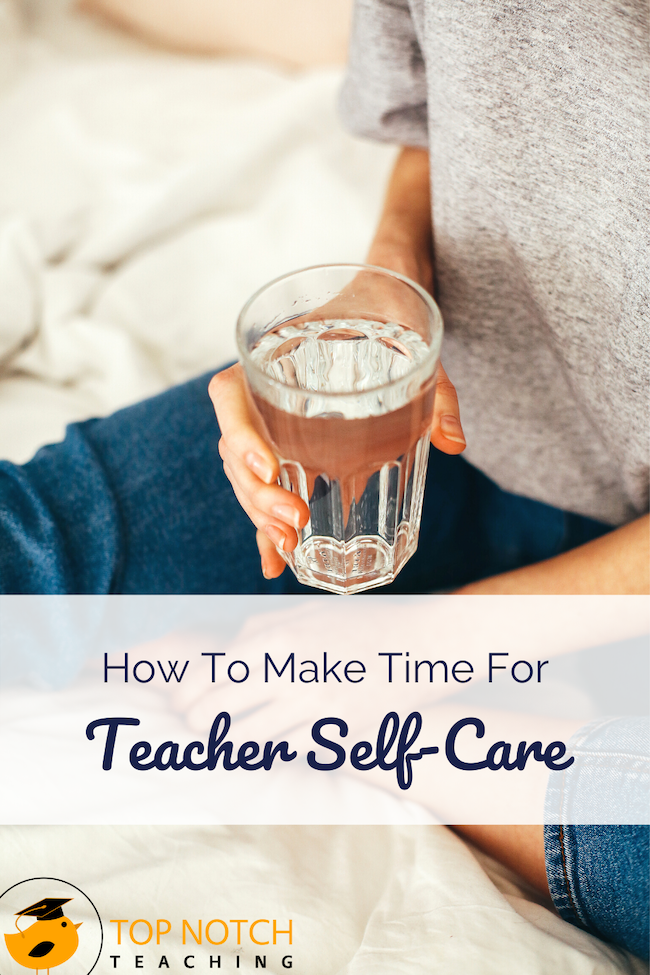 Living in a time of pandemic is scary, and as a teacher, you know you are exposed to so many germs during the best of times. First, take a deep breath. And another. Basic teacher self-care is critical - like sleep, eating well, drinking enough water, and regular exercise.