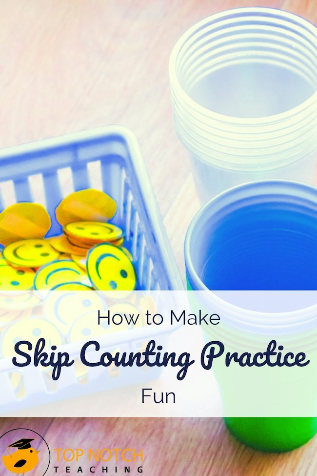Most of us skip count without a thought. Giving kids lots of practice (and different kinds of practice) can help them master this important skill and get past some of the most common barriers. Are you working on skip counting with your students — or maybe at home with your child? Here are some additional ideas and resources to provide more skip counting practice.