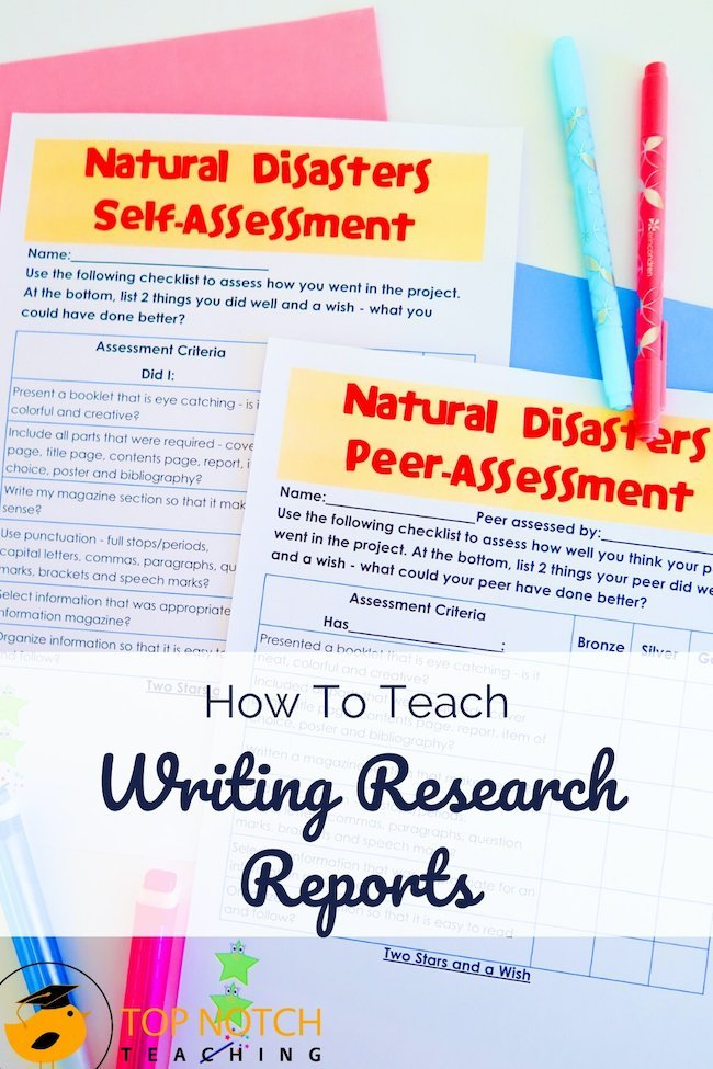 Writing research reports is a skill students will use throughout their schooling. Helping students in grades 4–7 (or homeschool equivalent) learn the process of writing research reports is invaluable. Pair the process with an interesting topic—like natural disasters—and kids get intrigued and come out with new skills and a finished report.