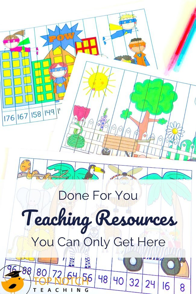 Even when you teach the same things again, new teaching resources keep things fresh for you and offer opportunities to support students who learn in different ways or need different amounts of practice. Imagine always knowing where to go and being able to download whatever you need when you need it.