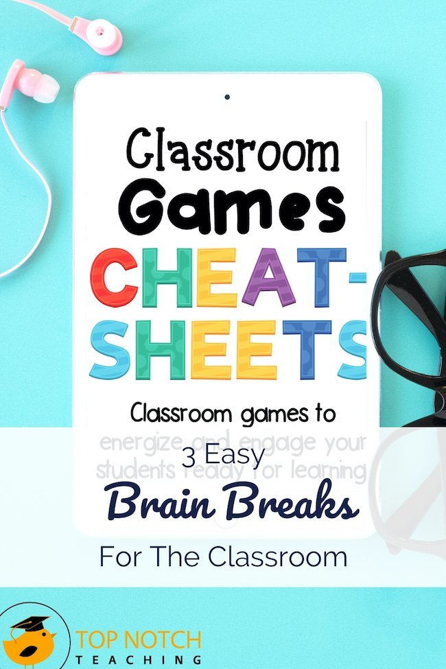 As teachers, we have a lot to cover so we try to cram a lot into every day. But as learners, we all need breaks to take stuff in, reenergize, and refocus. That's what brain breaks are all about. In addition, many brain breaks help kids develop social skills or add more activity into their day. These simple — and often brief — breaks can have big benefits!