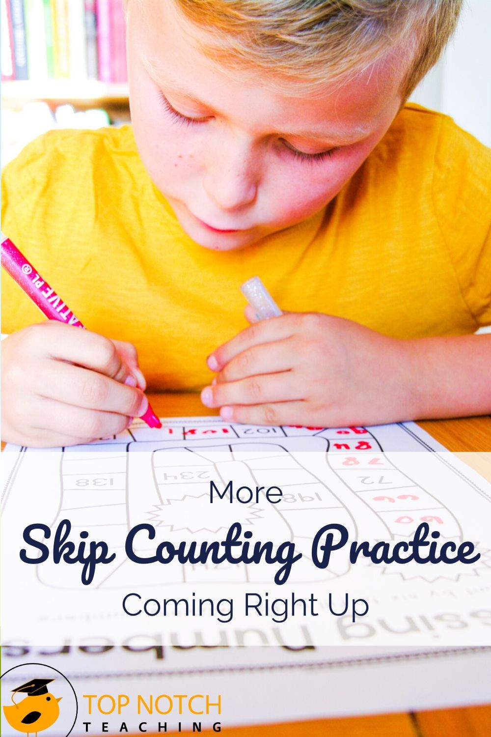 Skip counting is an essential math skill that helps kids develop calculation fluency. It's also a cornerstone for learning multiplication and division. We often start teaching skip counting with 2, 5, and 10 as these are some of the easiest numbers for kids to work with. Even students who seem to catch on to skip counting pretty easily often get caught up with these three things. That's why you can't have too many skip counting tools in your teaching toolbox.