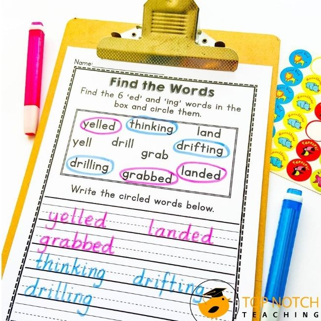 Students need to learn how to use suffixes. The suffixes -ing and -ed are often the first students learn. Suffixes with Ing and Ed Worksheets here!