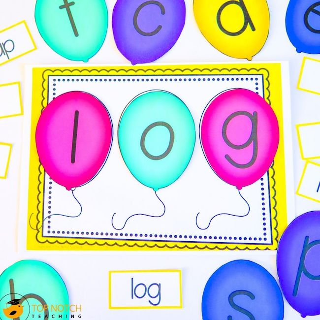 Knowing how to teach CVC words to new readers effectively is critical. Start by having students listen for sounds in CVC words and play games like I-spy.