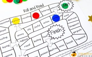 Help your students learn and practice the OI and OY vowel combinations with these fun activities. Your students will work on vowel teams for the oy sound.