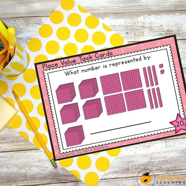 Teaching place value is important for students. Place value helps us to read whole numbers into the millions and beyond. Try these place value activities.