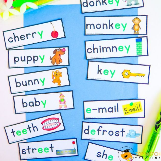 Kids need to learn phonemes and graphemes, and how to segment, blend, and manipulate sounds. Give students practice phoneme blending using games.