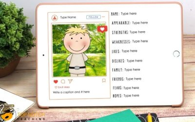 Phonics Writing Prompts for OO Sound Words | Print and Digital