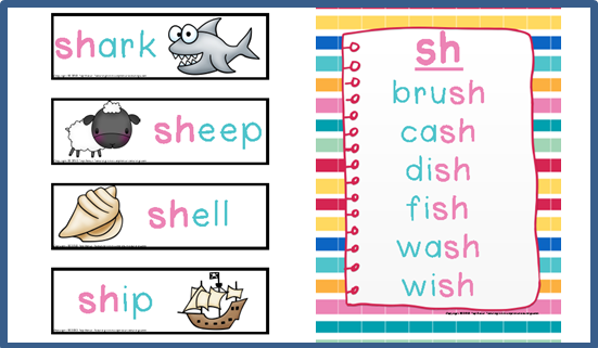Digraph Activities Games Worksheets sh Top Notch Teaching – Digraph Worksheet