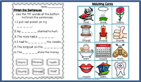 Digraph Activities Games Worksheets th Top Notch Teaching – Th Digraph Worksheets