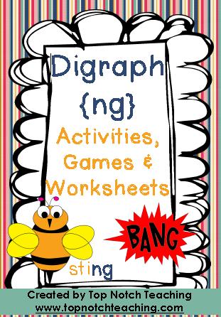 Digraph Activities | topnotchteaching.com