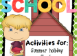 Back to School Activities | topnotchteaching.com