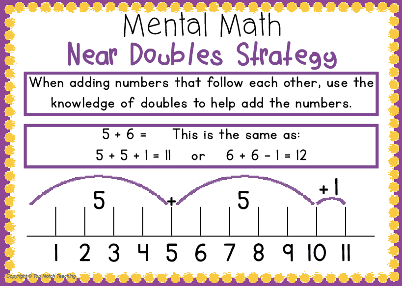Mental Math Activities...