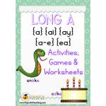 Long A activities
