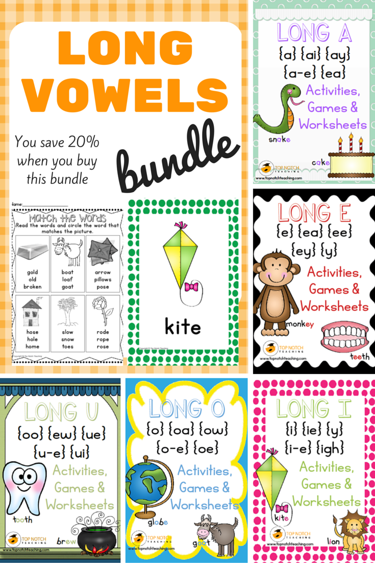 Long Vowels - Top Notch Teaching