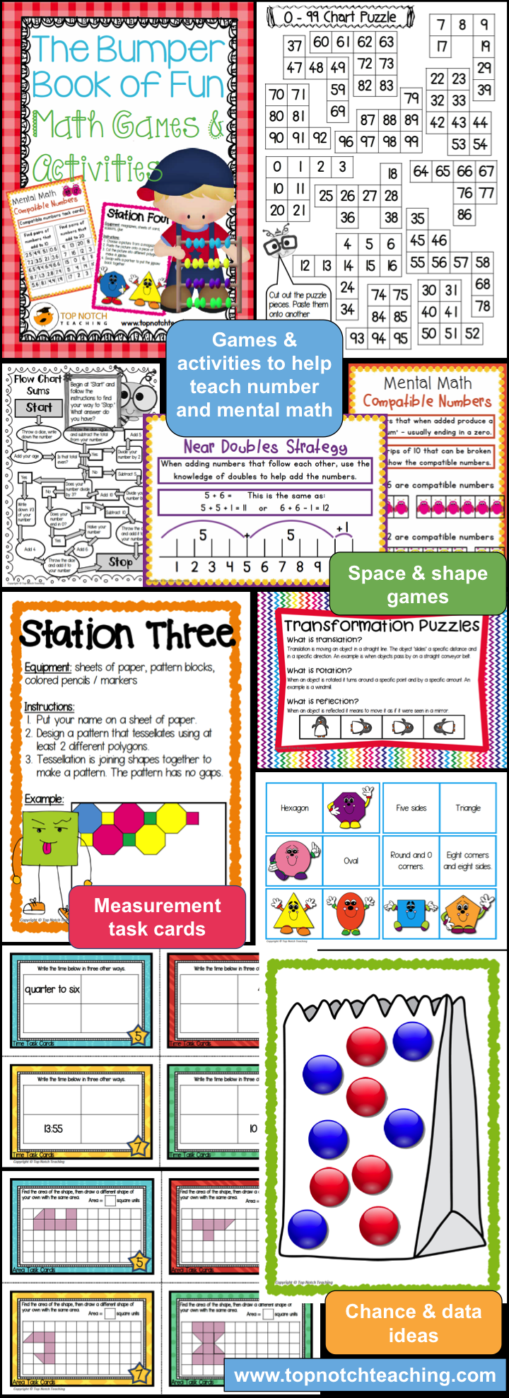 At times it can be challenging to engage children during math lessons as well as provide the content needed in order to meet the demands of the curriculum. That is why I'm very excited to share with you some of my favorite math games and activities.
