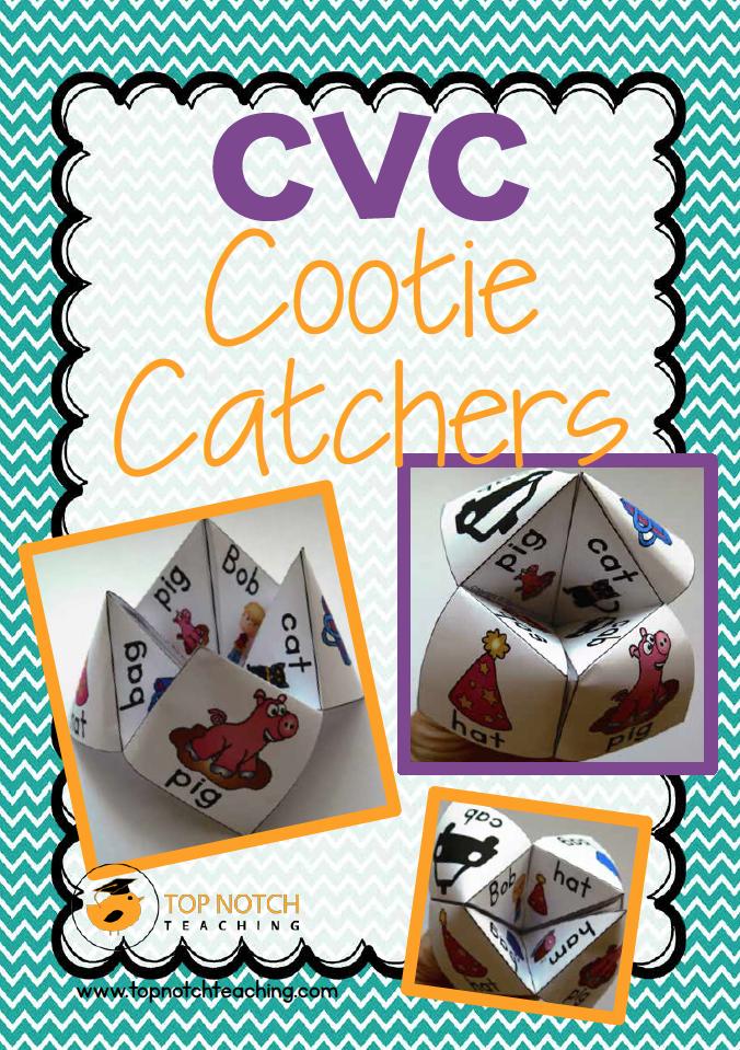 cootie catchers