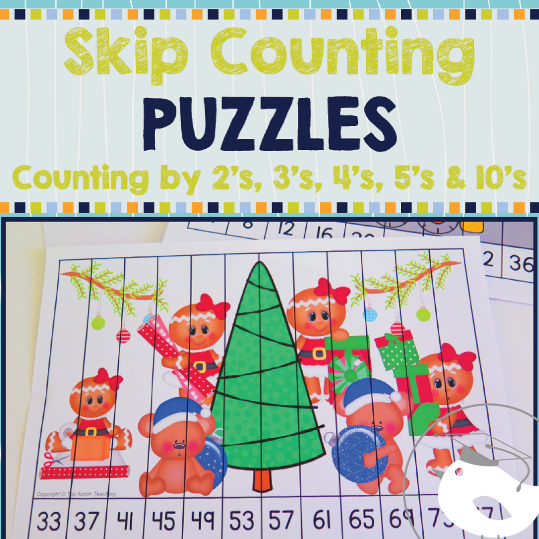 Skip Counting Puzzles By 2 39 S 3 39 S 4 39 S 5 39 S And 10 S Top